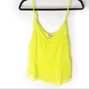 Olsenboye Neon Yellow Tank